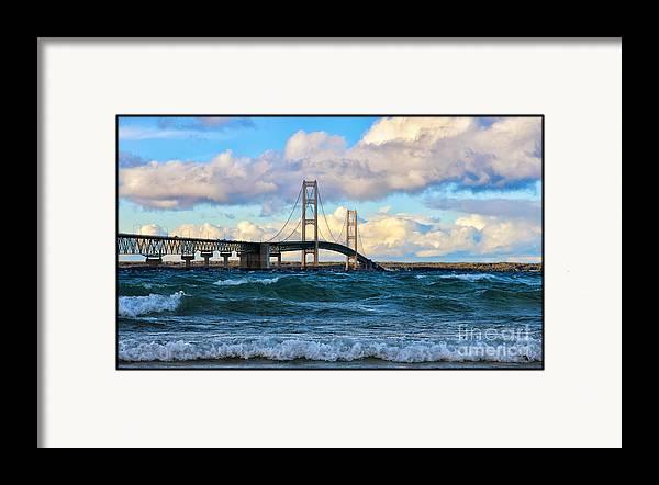 Mackinac Among the Waves by Rachel Cohen