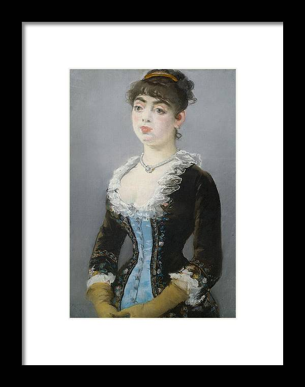1882 Framed Print featuring the painting Madame Michel-levy by Edouard Manet