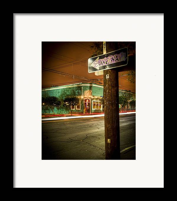 Long Framed Print featuring the photograph Magazine And Webster by Ray Devlin
