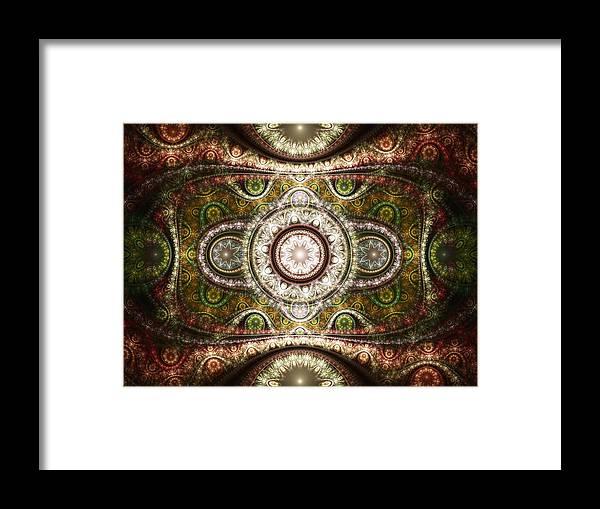 Malakhova Framed Print featuring the digital art Magic Carpet by Anastasiya Malakhova
