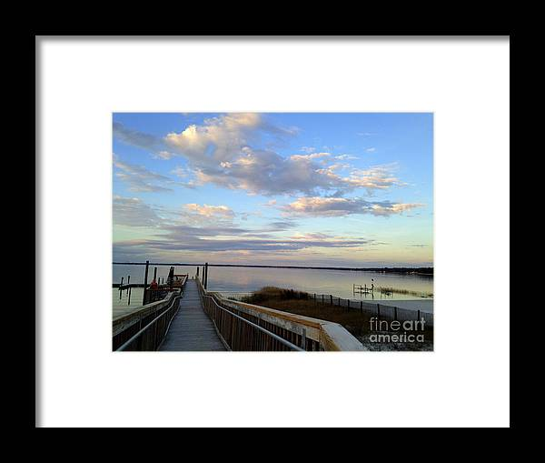 Clouds Framed Print featuring the photograph Magic by De La Rosa Concert Photography