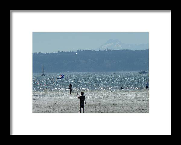 Jetty Island Framed Print featuring the photograph Magical Day On Jetty Island by Ann Michelle Swadener