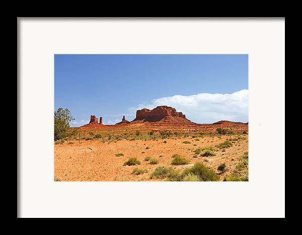 Monument Framed Print featuring the photograph Magnificent Monument Valley by Christine Till
