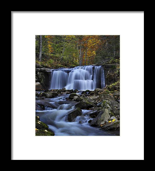 Cascade Framed Print featuring the photograph Magnificent Waterfall by Ivan Slosar