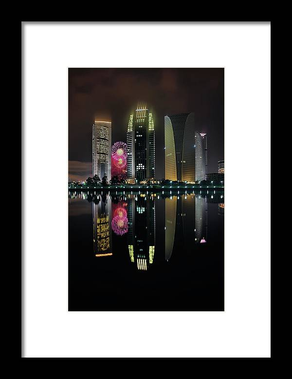 Tranquility Framed Print featuring the photograph Malaysia 56th Independence Day by Photography By Azam Alwi