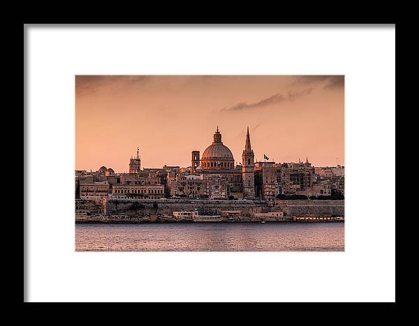 Malta Framed Print featuring the photograph Malta 01 by Tom Uhlenberg