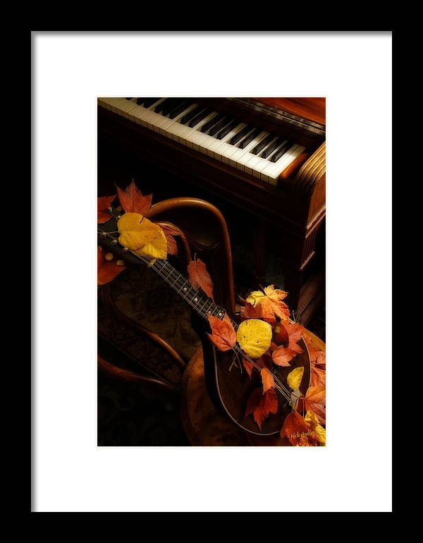 Mandolin Framed Print featuring the photograph Mandolin Autumn 5 by Mick Anderson