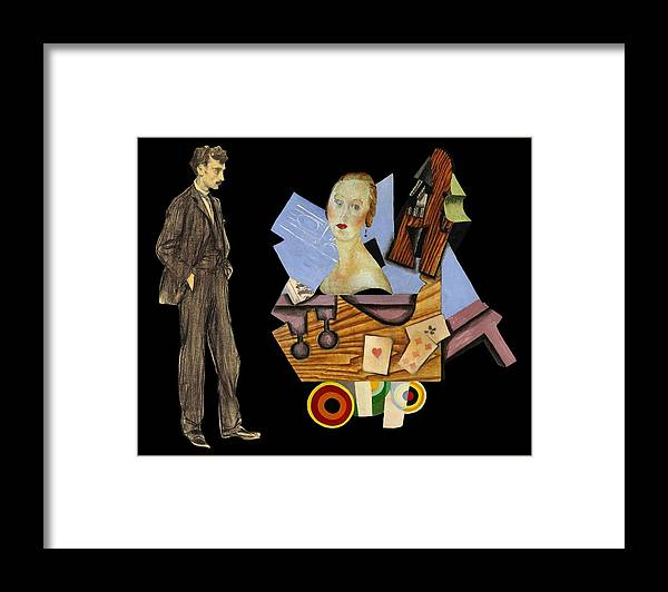 Men Framed Print featuring the photograph Man's Companion by Laura Botsford