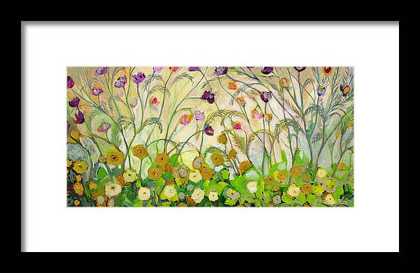 Landscape Framed Print featuring the painting Mardi Gras by Jennifer Lommers