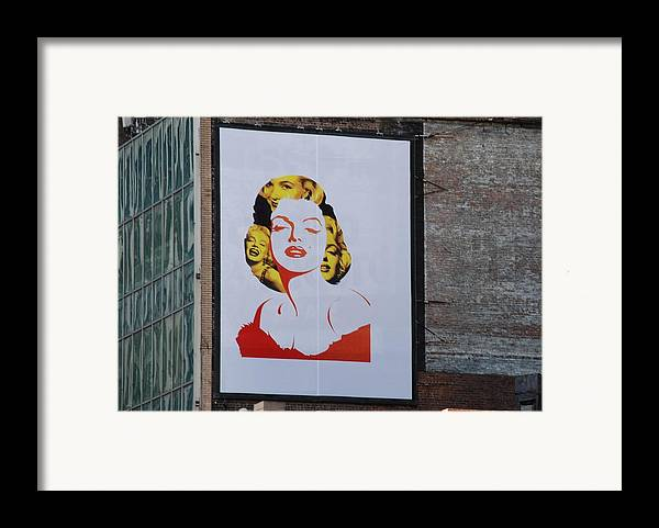 Marilyn Monroe Framed Print featuring the photograph Marilyn Monroe by Rob Hans