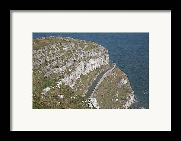 Marine Framed Print featuring the photograph Marine Drive by Christopher Rowlands