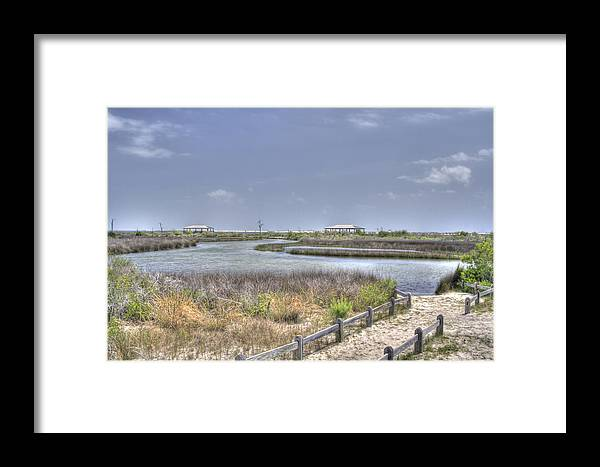 Pensacola Framed Print featuring the photograph Marsh by David Troxel