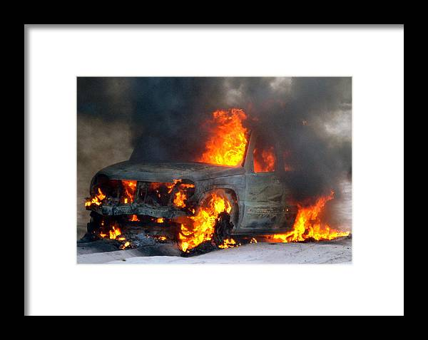 Jeep Framed Print featuring the photograph Marsh-mellows Anyone by Tommy Pics