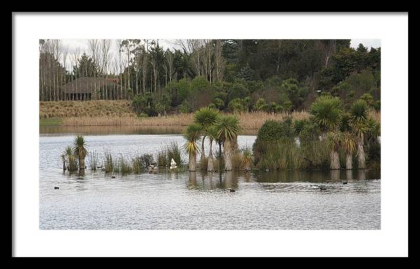 Marshlands Framed Print featuring the photograph Marshlands by Joyce Woodhouse