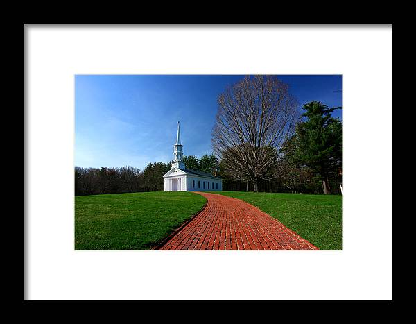Massachusetts Framed Print featuring the photograph Martha Marys In Spring by David DeCenzo