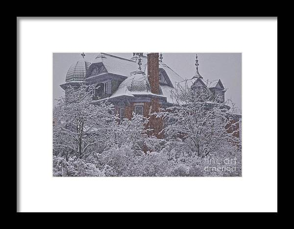 Framed Print featuring the photograph Marvel by Tracy Rice Frame Of Mind
