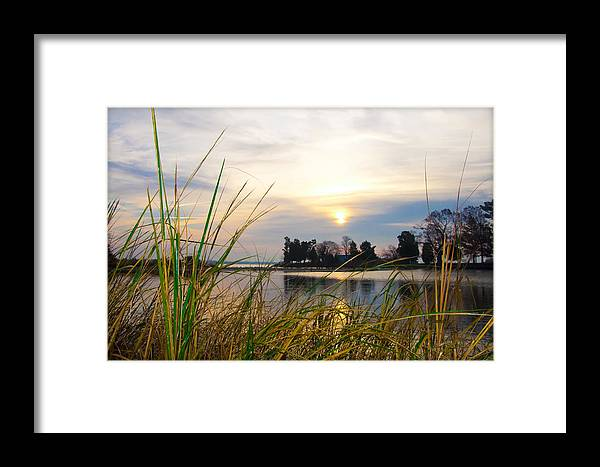 Maryland Framed Print featuring the photograph Maryland Morning by Bill Cannon