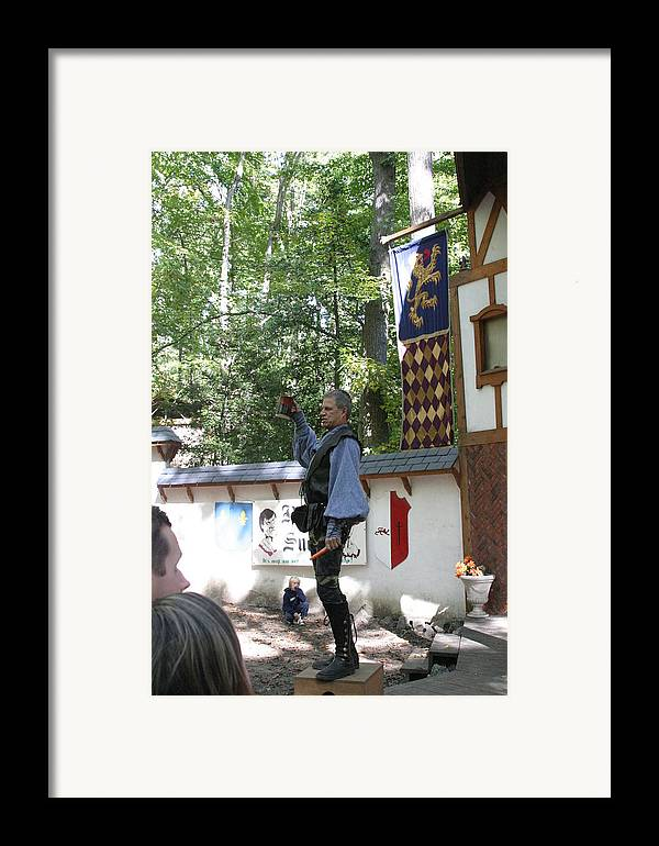 Maryland Framed Print featuring the photograph Maryland Renaissance Festival - Puke N Snot - 12122 by DC Photographer