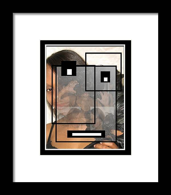 Mask Framed Print featuring the photograph Masked Intention by Darryl Kravitz