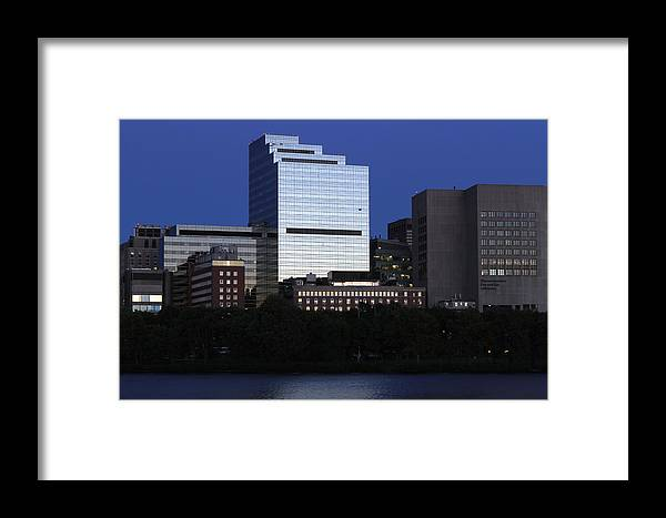 Massachusetts Framed Print featuring the photograph Massachusetts Eye And Ear Infirmary by Juergen Roth