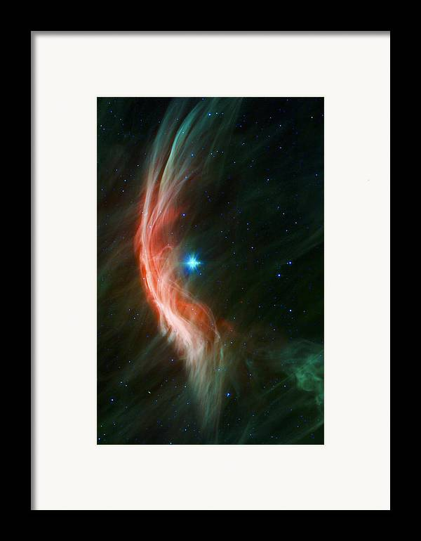3scape Photos Framed Print featuring the photograph Massive Star Makes Waves by Adam Romanowicz