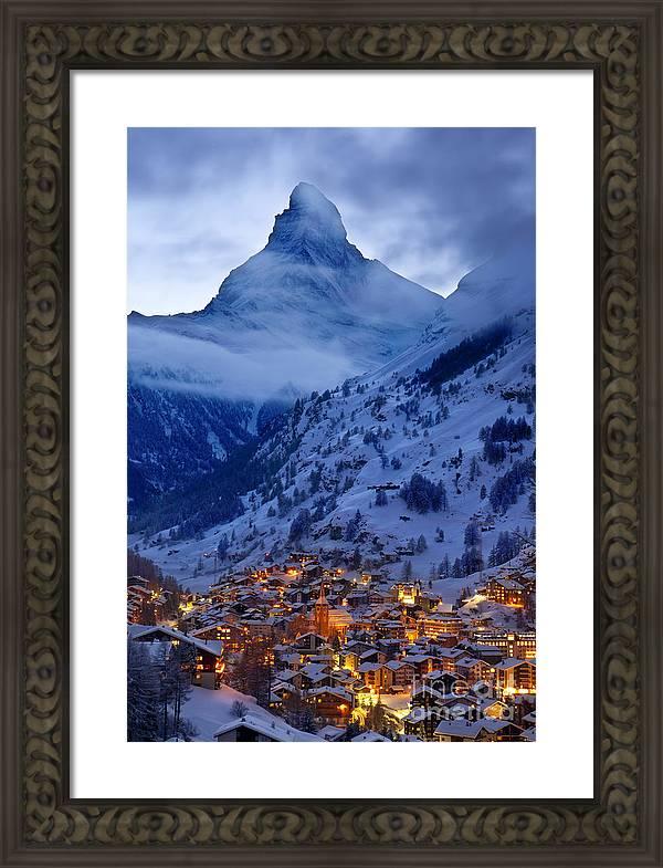 Matterhorn at Twilight by Brian Jannsen
