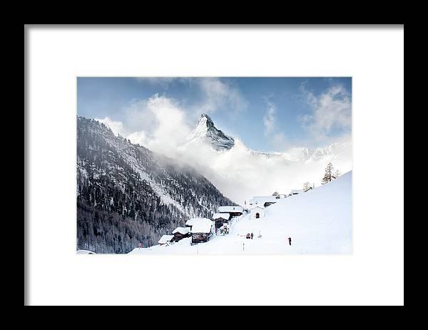 Tranquility Framed Print featuring the photograph Matterhorn by Steffen Schnur