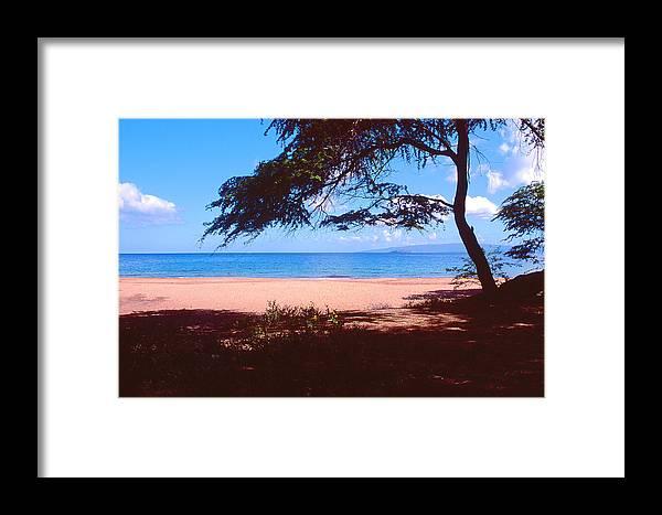 Beach Framed Print featuring the photograph Maui Beach by Dena Baker