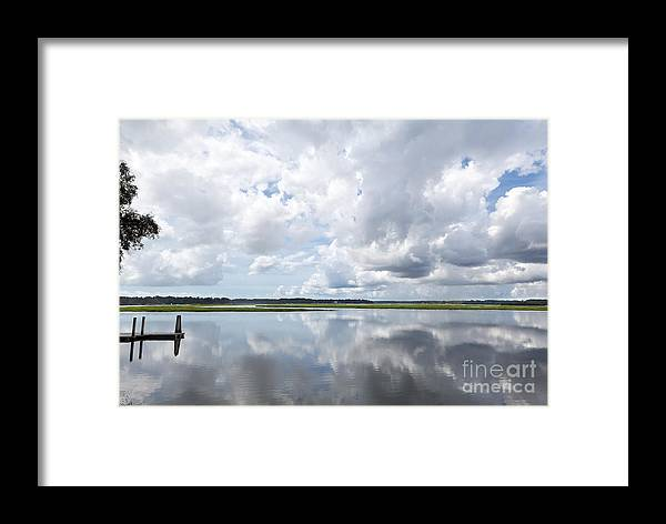 Bluffton Framed Print featuring the photograph May River by Jim Pruitt