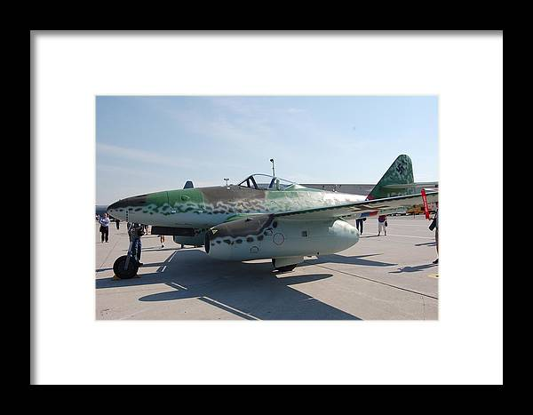 Me262 Framed Print featuring the photograph Me262 by Todd Elliott