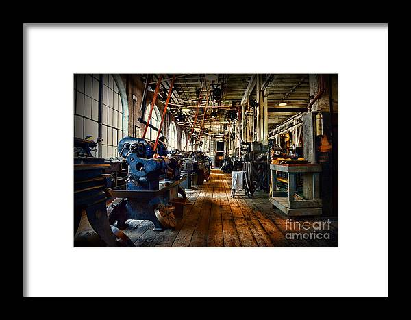 Paul Ward Framed Print featuring the photograph Mechanical Works by Paul Ward