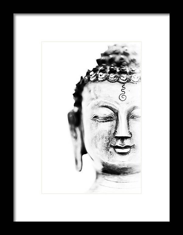 Medicine Buddha Framed Print by Tim Gainey