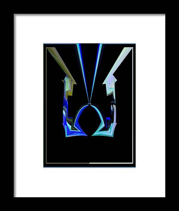 Meditation Framed Print featuring the mixed media Meditation by Emmanuel Iceberg