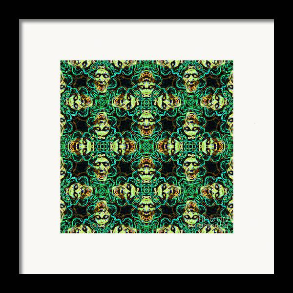 Medusa Framed Print featuring the photograph Medusa Abstract 20130131p38 by Wingsdomain Art and Photography