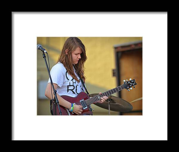 Coldwater Framed Print featuring the photograph Megan Young 6 by Dennis James