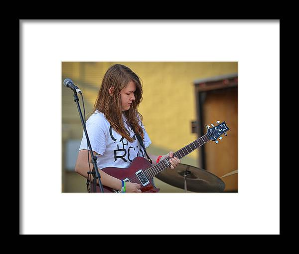 Coldwater Framed Print featuring the photograph Megan Young 7 by Dennis James