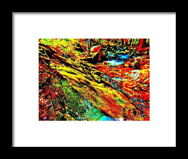 Landscape Framed Print featuring the photograph Mellow Yellow 61 by George Ramos