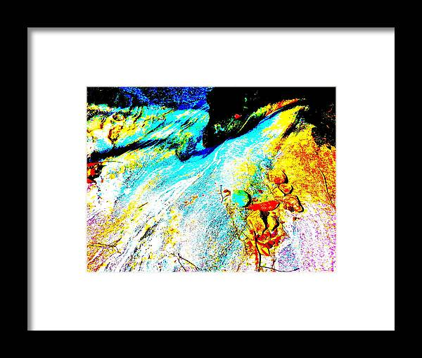 Landscape Framed Print featuring the photograph Mellow Yellow 62 by George Ramos