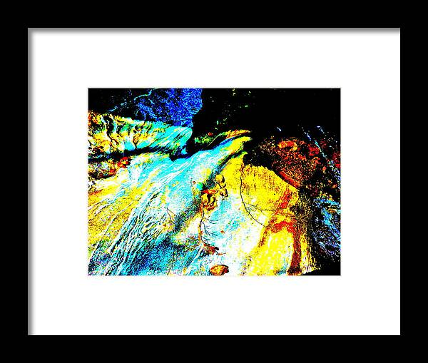 Landscape Framed Print featuring the photograph Mellow Yellow 63 by George Ramos