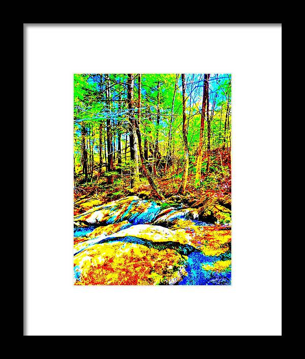 Landscape Framed Print featuring the photograph Mellow Yellow 67 by George Ramos