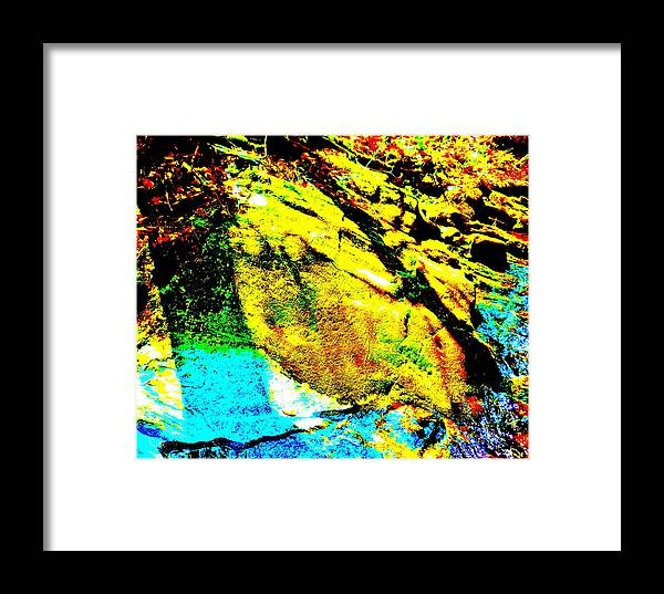 Landscape Framed Print featuring the photograph Mellow Yellow 69 by George Ramos