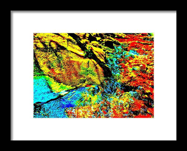 Landscape Framed Print featuring the photograph Mellow Yellow 70 by George Ramos