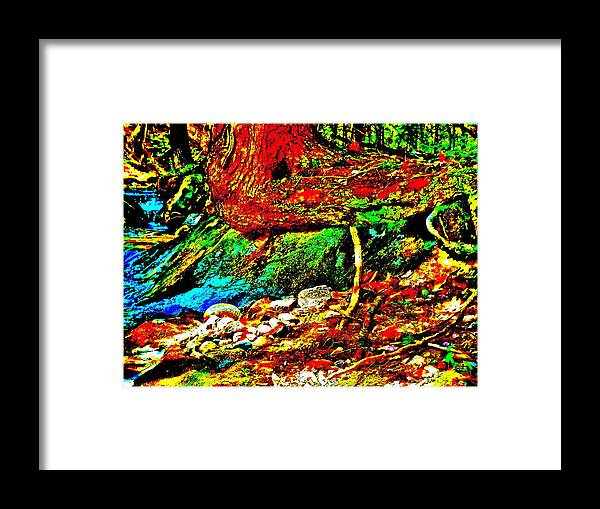 Landscape Framed Print featuring the photograph Mellow Yellow 72 by George Ramos