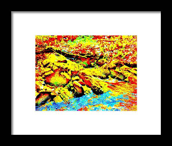 Landscape Framed Print featuring the photograph Mellow Yellow 75 by George Ramos