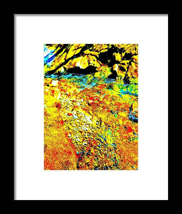 Landscape Framed Print featuring the photograph Mellow Yellow 76 by George Ramos