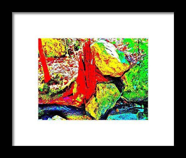 Landscape Framed Print featuring the photograph Mellow Yellow 77 by George Ramos