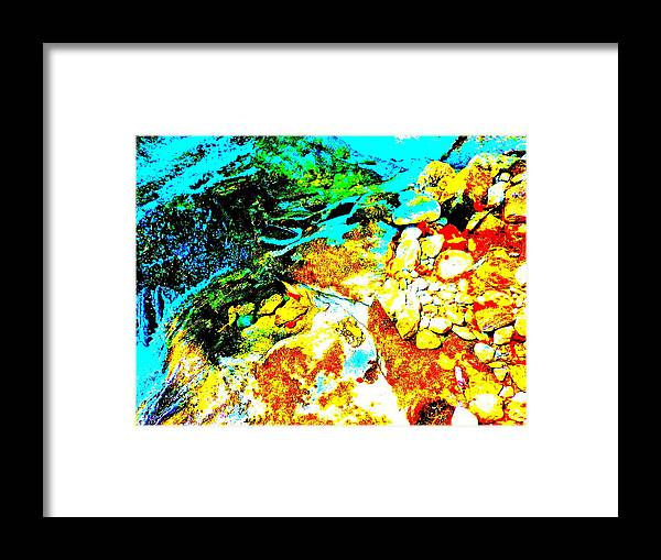 Landscape Framed Print featuring the photograph Mellow Yellow 80 by George Ramos