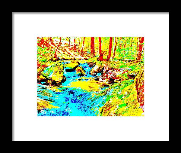 Landscape Framed Print featuring the photograph Mellow Yellow 83 by George Ramos