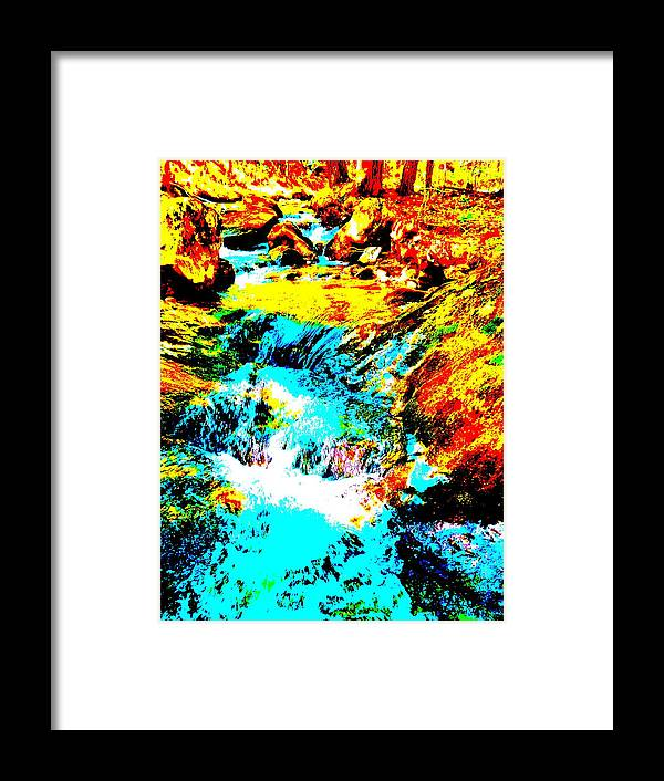 Landscape Framed Print featuring the photograph Mellow Yellow 84 by George Ramos