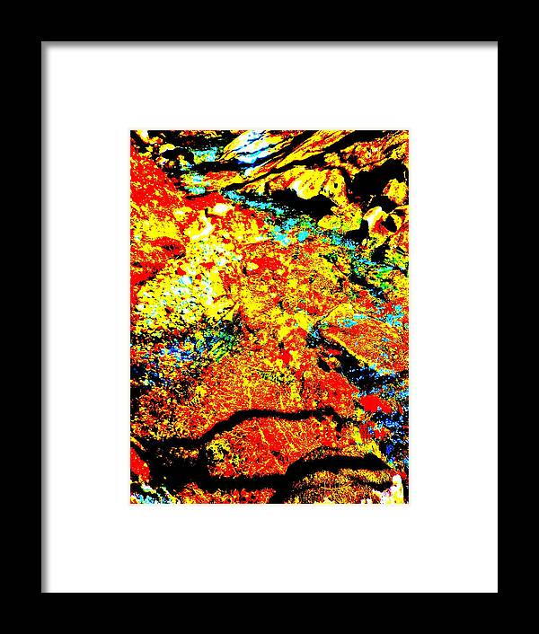 Landscape Framed Print featuring the photograph Mellow Yellow 85 by George Ramos